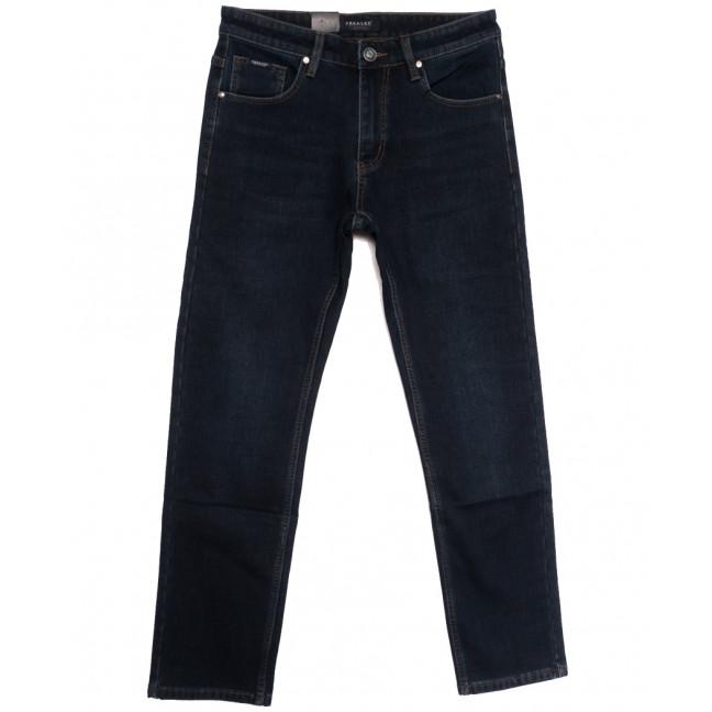 1077 Pаgalee джинсы мужские полубатальные на флисе темно-синие зимние стрейчевые (32-40, 8 ед.) Pagalee: артикул 1115692