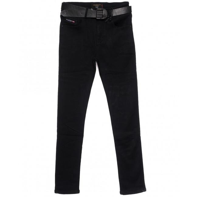 9578 Dimarkis Day джинсы женские полубатальные на флисе черные зимние стрейчевые (28-33, 6 ед.) Dimarkis Day: артикул 1115807