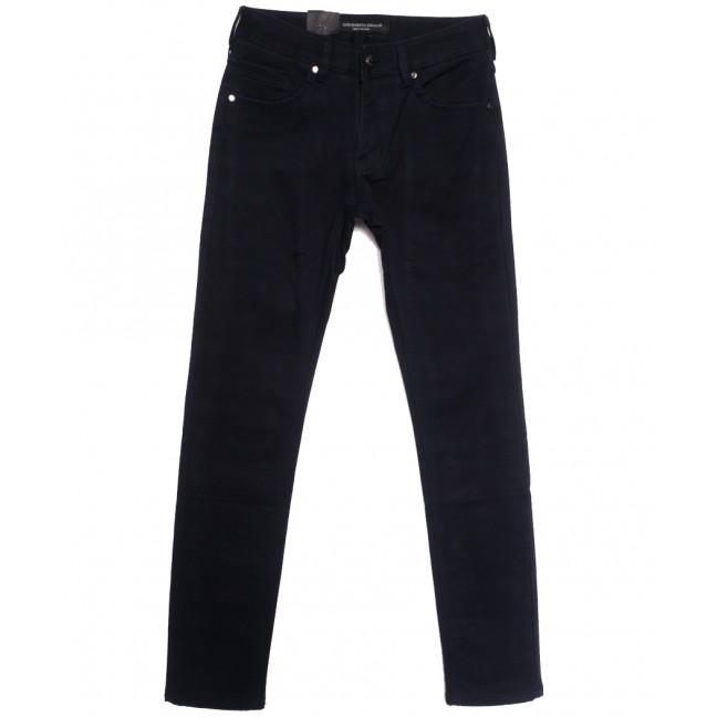 8692 God Baron джинсы мужские молодежные на флисе темно-синие зимние стрейчевые (27-34, 8 ед.) God Baron: артикул 1115448