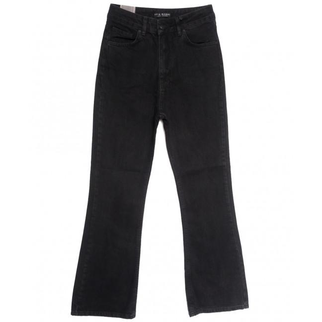 1752-1 Black Its Basic джинсы женские черные осенние коттоновые (34-42,евро, 6 ед.) Its Basic: артикул 1115362
