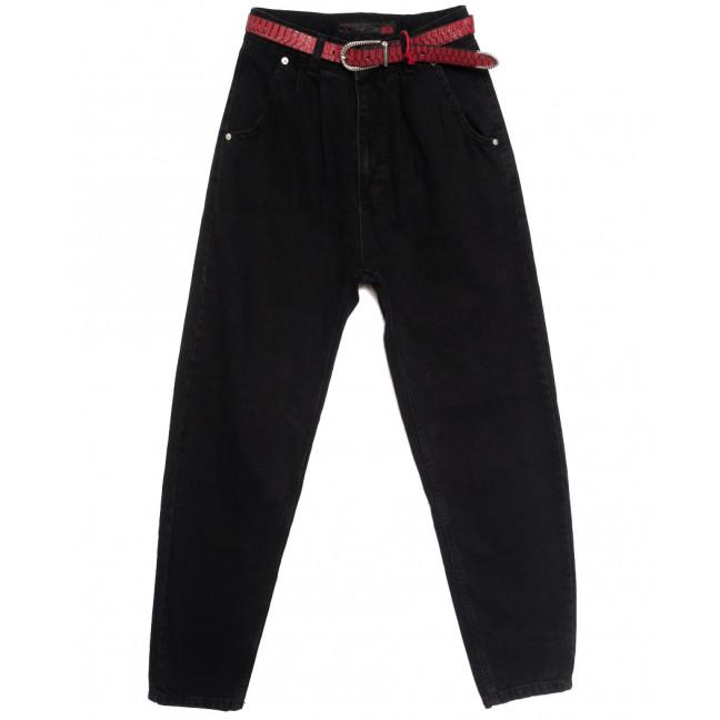 0928 Sherocco джинсы-баллон черные осенние коттоновые (25-30, 6 ед.) SheRocco: артикул 1115312
