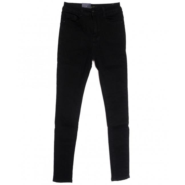 5417 Gallop джинсы женские на байке черные зимние стрейчевые (25-30, 6 ед.) Gallop: артикул 1115222