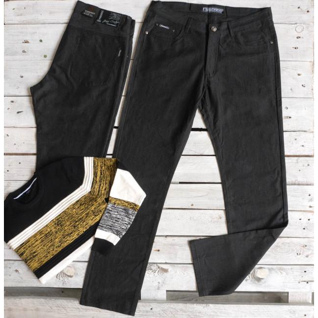 5988 Vigoocc брюки мужские батальные черные осенние котоновые (38-44, 6 ед.) Vigoocc: артикул 1116013