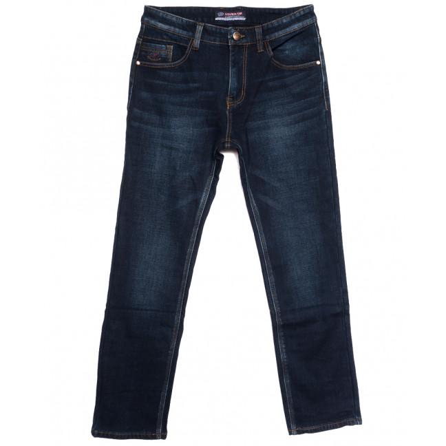 8217 Vouma-Up джинсы мужские полубатальные на флисе синие зимние стрейчевые (32-38, 8 ед.) Vouma-Up: артикул 1115826