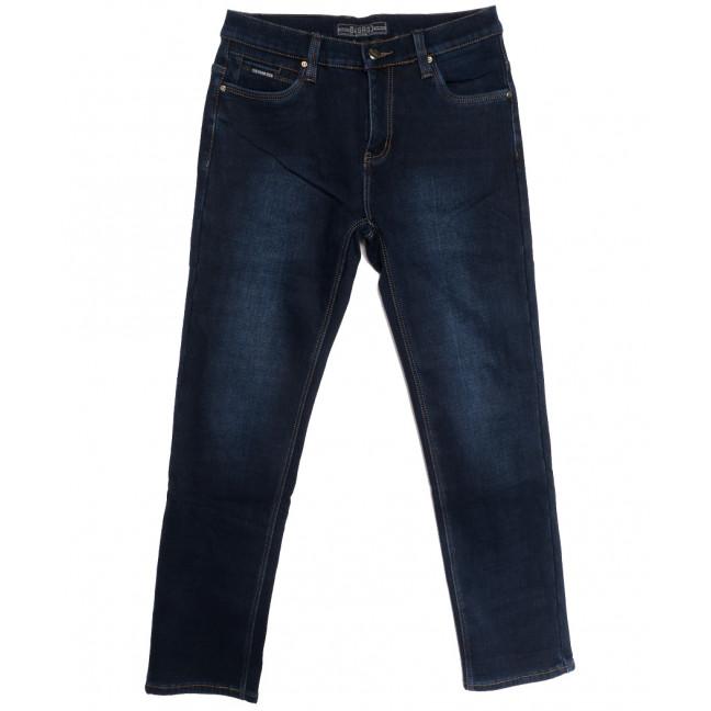 2022 Bagrbo джинсы мужские на флисе синие зимние стрейчевые (30-38, 8 ед.) Bagrbo: артикул 1115394
