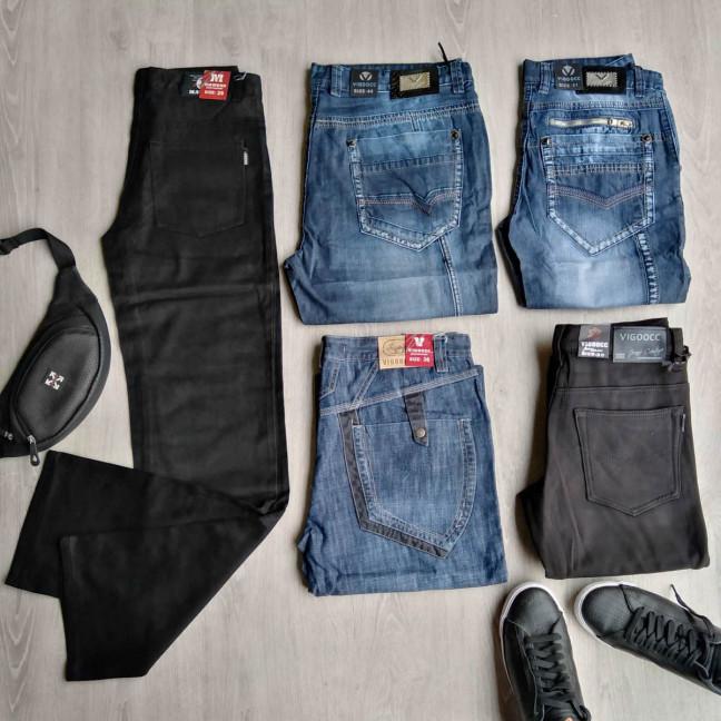 1031 Vigoocc джинсы мужские микс моделей и размеров (35 ед.) #партнер10 Vigoocc: артикул 1115025