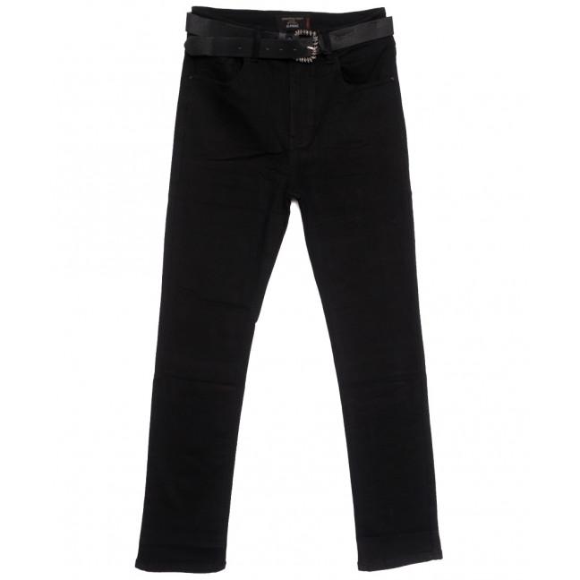 9744 Dimarkis Day джинсы женские батальные на флисе черные зимние стрейчевые (31-38, 6 ед.) Dimarkis Day: артикул 1115806