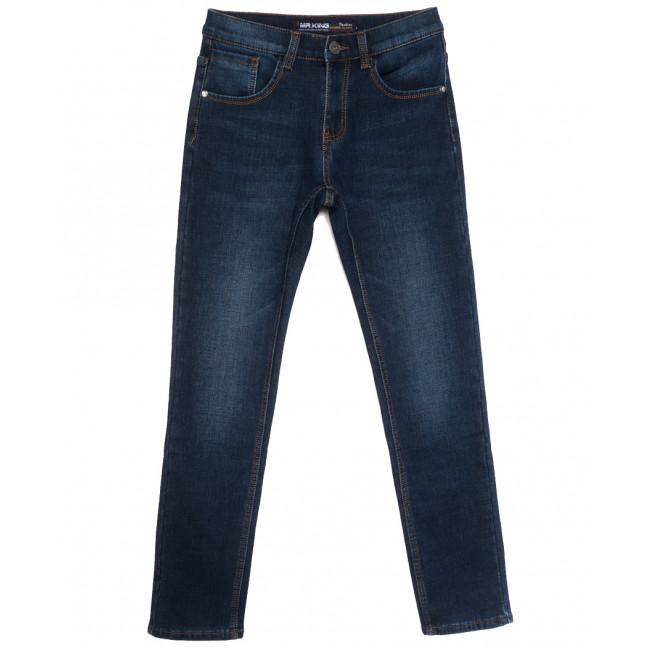 86300 Mr.King джинсы мужские на флисе синие зимние стрейчевые (29-38, 8 ед.) Mr.King: артикул 1115561