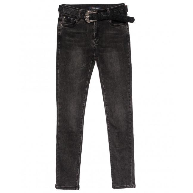 6233 Like джинсы женские полубатальные серые осенние стрейчевые (28-33, 6 ед.) Like: артикул 1115272