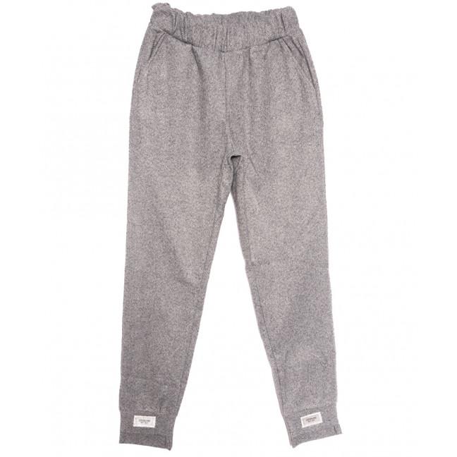 0015-44 серые Exclusive брюки женские зимние стрейчевые (42-48,норма, 4 ед.) Exclusive: артикул 1115980