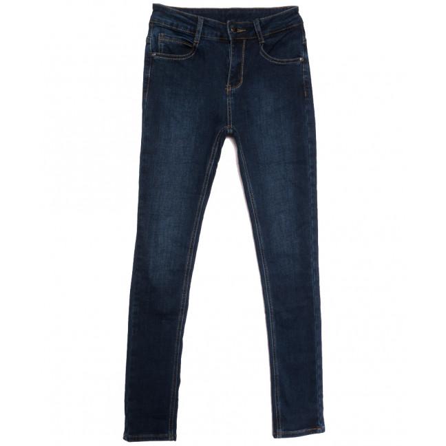 0155 (L155) Lelena джинсы женские на байке синие зимние стрейчевые (25-30, 6 ед.) Lelena: артикул 1115921