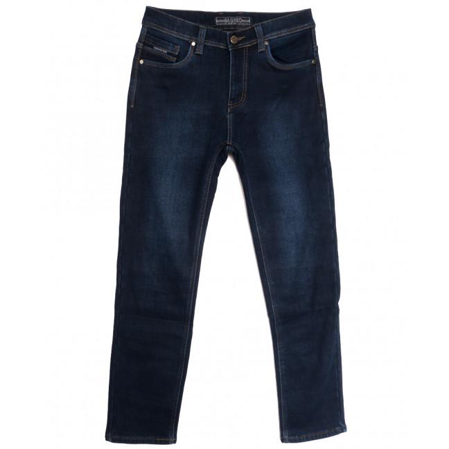 2021 Bagrbo джинсы мужские на флисе синие зимние стрейчевые (29-38, 8 ед.) Bagrbo: артикул 1115387
