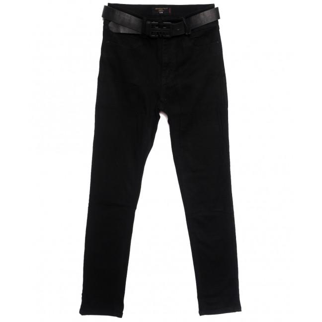 9746 Dimarkis Day джинсы женские батальные на флисе черные зимние стрейчевые (31-38, 6 ед.) Dimarkis Day: артикул 1115683