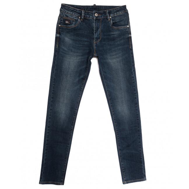 19010 Star King джинсы мужские молодежные синие осенние стрейчевые (28-34, 8 ед.) Star King: артикул 1115435