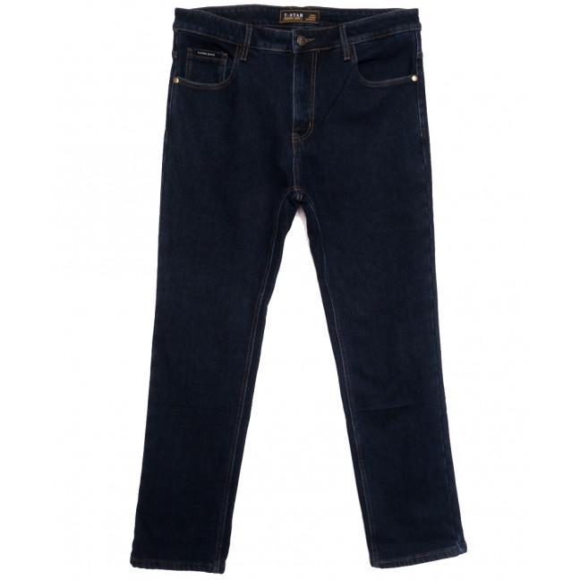 01999 T-Star джинсы мужские батальные на флисе темно-синие зимние стрейчевые (36-46, 8 ед.) T-Star: артикул 1115725