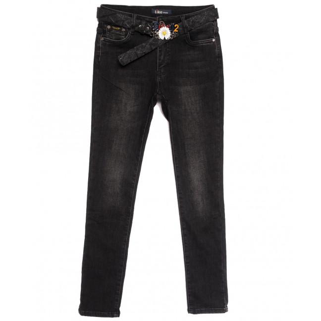 6247 Like джинсы женские полубатальные на байке серые зимние стрейчевые (28-33, 6 ед.) Like: артикул 1115283