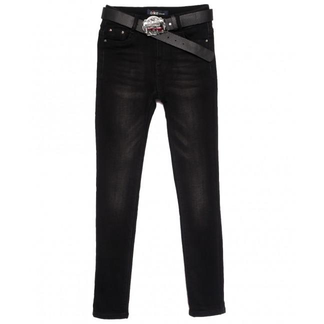 6267 Like джинсы женские на байке черные зимние стрейчевые (25-30, 6 ед.) Like: артикул 1115276