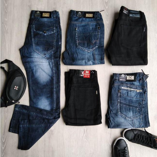 1030 Vigoocc джинсы мужские микс моделей и размеров (35 ед.) #партнер10 Vigoocc: артикул 1115024