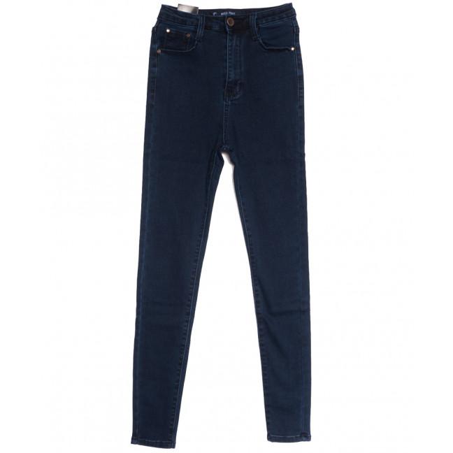6012 Miss Free джинсы женские на байке темно-синие зимние стрейчевые (25-30, 6 ед.) Miss Free: артикул 1115234
