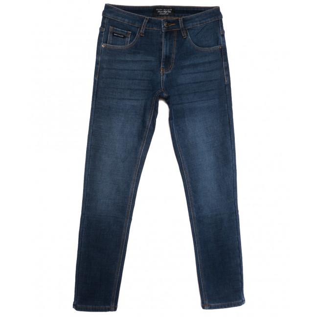 8200 Mаrk Walker джинсы мужские на флисе синие зимние стрейчевые (29-38, 8 ед.) Mark Walker: артикул 1115743