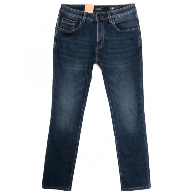 2313 Fang джинсы мужские полубатальные на флисе синие зимние стрейчевые (32-42, 8 ед.) Fang: артикул 1115292