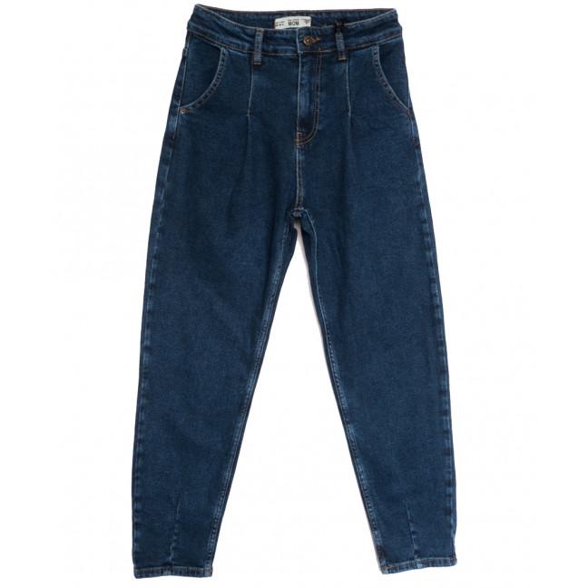 1224-6 Real Focus джинсы-баллон синие осенние стрейчевые (26-30, 5 ед.) Real Focus: артикул 1115369