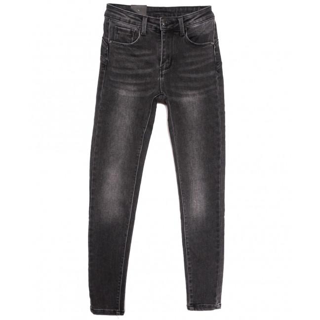 8009 Moon girl джинсы женские серые осенние стрейчевые (26-31, 6 ед.) Moon Girl: артикул 1115871