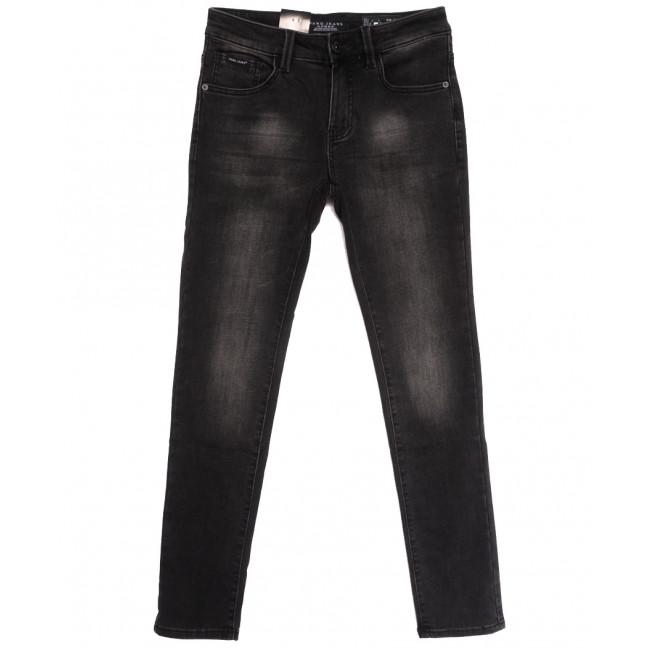 2298 Fang джинсы мужские на байке серые зимние стрейчевые (29-36, 8 ед.) Fang: артикул 1115290