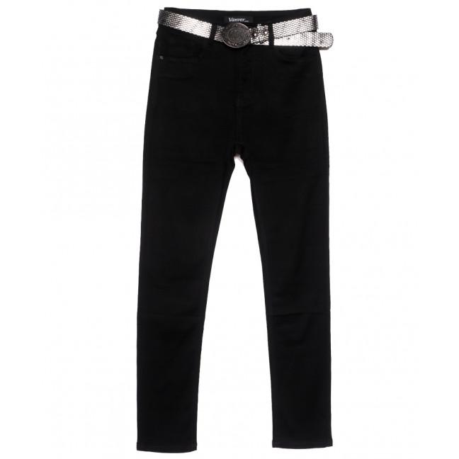 81508 Vanver джинсы женские батальные черные осенние стрейчевые (30-36, 6 ед.) Vanver: артикул 1115608