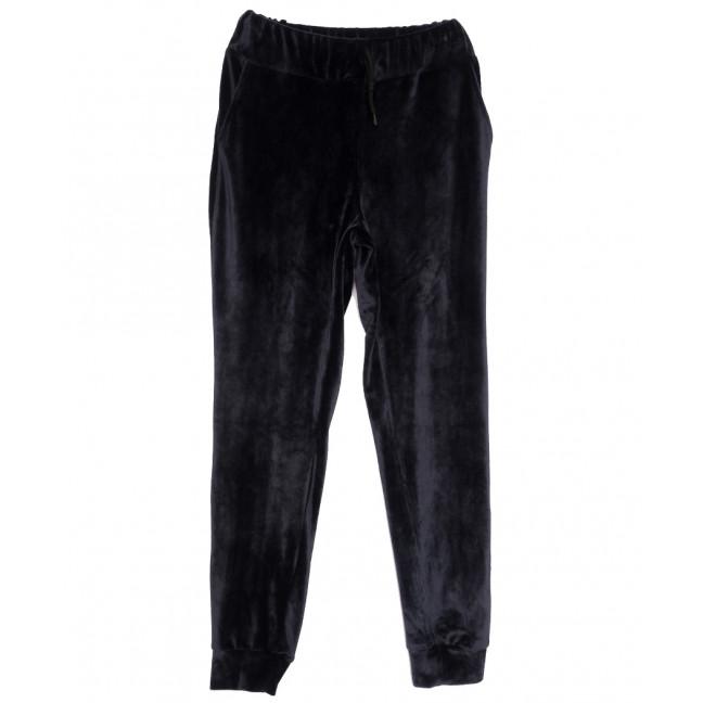 0201-42 темно-синие Exclusive брюки женские спортивные осенние стрейчевые (42-48,норма, 4 ед.) Exclusive: артикул 1115963