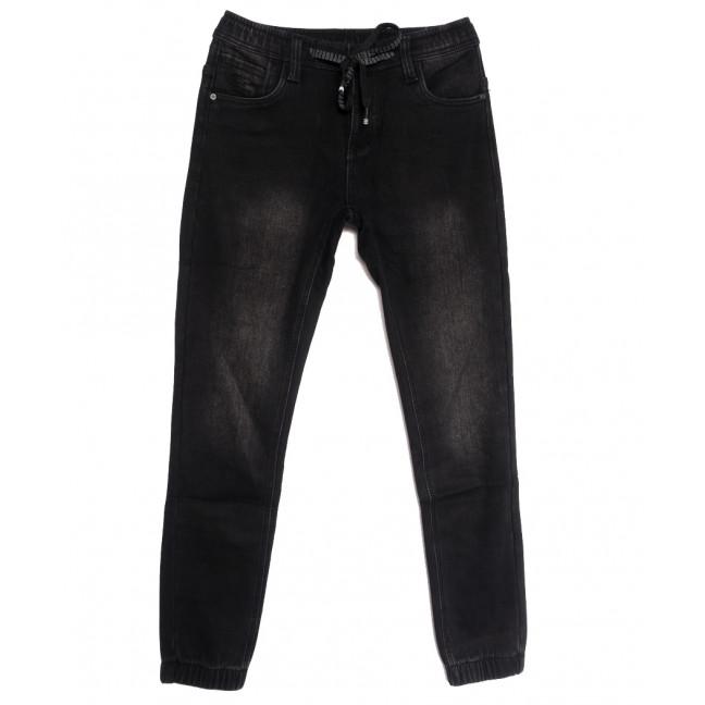 1595 Bagrbo джинсы мужские молодежные на резинке на флисе серые зимние стрейчевые (28-36, 8 ед.) Bagrbo: артикул 1115383