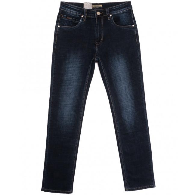 2112 Megoss джинсы мужские полубатальные синие осенние стрейчевые (32-42, 8 ед.) Megoss: артикул 1115830