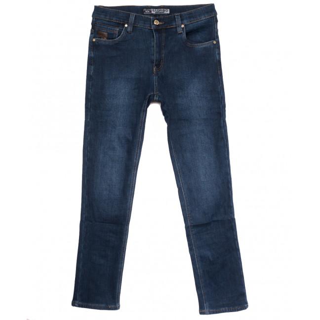 1257 Bagrbo джинсы мужские полубатальные на флисе синие зимние стрейчевые (32-38, 8 ед.) Bagrbo: артикул 1115398