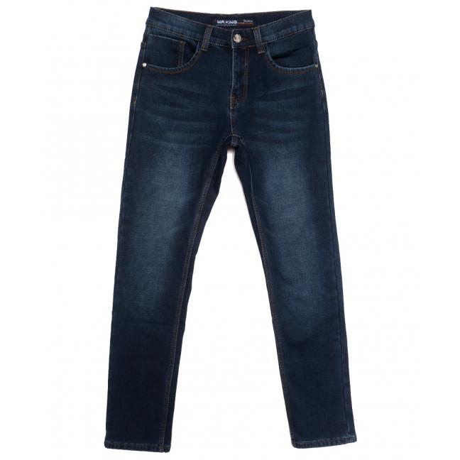 86306 Mr.King джинсы мужские на флисе синие зимние стрейчевые (29-38, 8 ед.) Mr.King: артикул 1115564