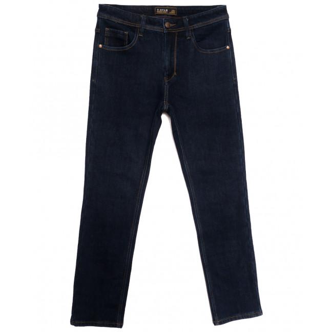 04999 T-Star джинсы мужские полубатальные на флисе темно-синие зимние стрейчевые (32-42, 8 ед.) T-Star: артикул 1115727