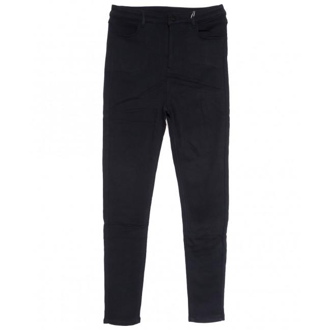 0608 Crosstyle джинсы женские батальные на флисе темно-синие зимние стрейчевые (30-36, 6 ед.) Crosstyle: артикул 1115572