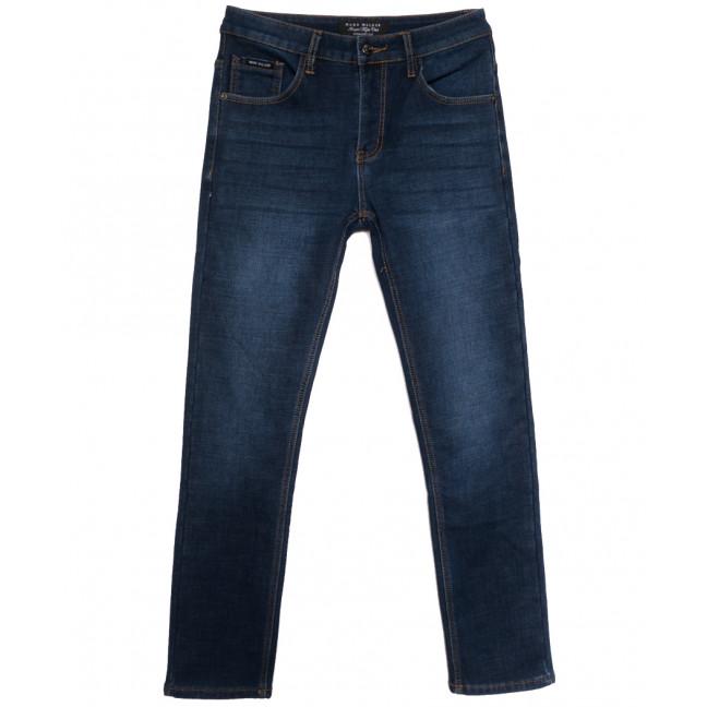 9023 Mаrk Walker джинсы мужские на флисе синие зимние стрейчевые (30-38, 8 ед.) Mark Walker: артикул 1115740