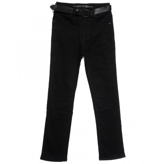 9694 Dimarkis Day джинсы женские батальные на флисе черные зимние стрейчевые (30-36, 6 ед.) Dimarkis Day: артикул 1115811