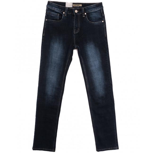 2114 Megoss джинсы мужские синие осенние стрейчевые (30-38, 8 ед.) Megoss: артикул 1115828