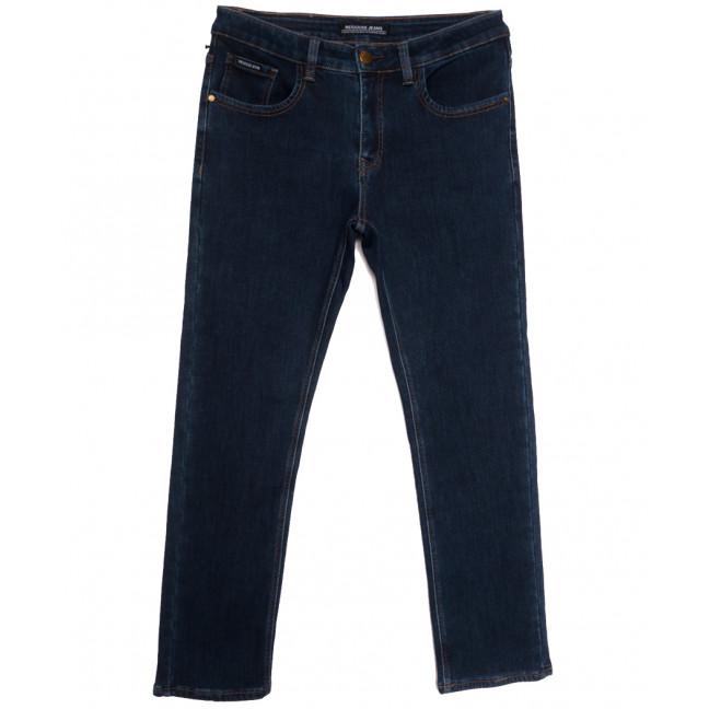 24777 Reigouse джинсы мужские полубатальные на флисе синие зимние стрейчевые (32-42, 8 ед.) REIGOUSE: артикул 1115719
