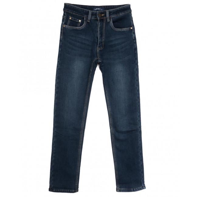 8002 Lavrs джинсы мужские молодежные на флисе синие зимние стрейчевые (28-36, 8 ед.) Lavrs: артикул 1115677