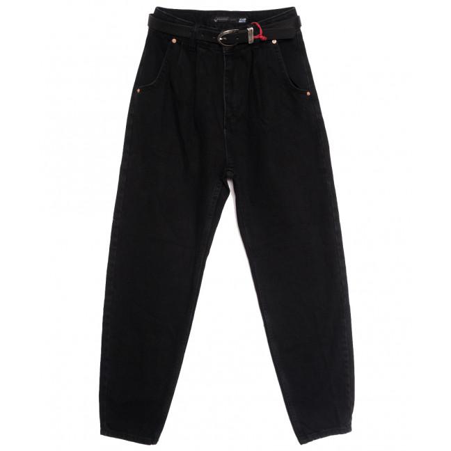0927 Sherocco джинсы-баллон черные осенние коттоновые (25-30, 6 ед.) SheRocco: артикул 1115311