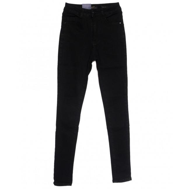 5421 Gallop джинсы женские на байке черные зимние стрейчевые (27-31, 6 ед.) Gallop: артикул 1115209