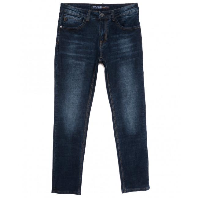 86290 Mr.King джинсы мужские полубатальные синие осенние стрейчевые (32-38, 8 ед.) Mr.King: артикул 1115527