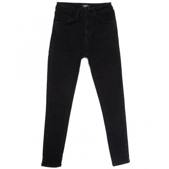 2034 Esqua джинсы женские черные осенние стрейчевые (26-31, 6 ед.) Esqua: артикул 1115768
