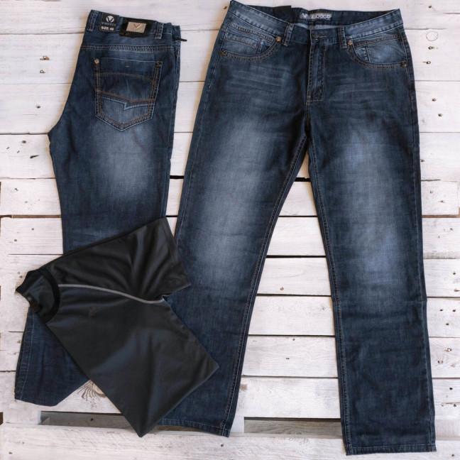 5829-3 Vigoocc джинсы мужские батальные осенние синние (38,40,41,42,44,46,  6 ед.) Vigoocc: артикул 1115992