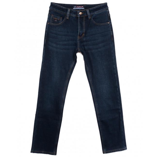 8213 Vouma-Up джинсы мужские на флисе синие зимние стрейчевые (29-38, 8 ед.) Vouma-Up: артикул 1115823