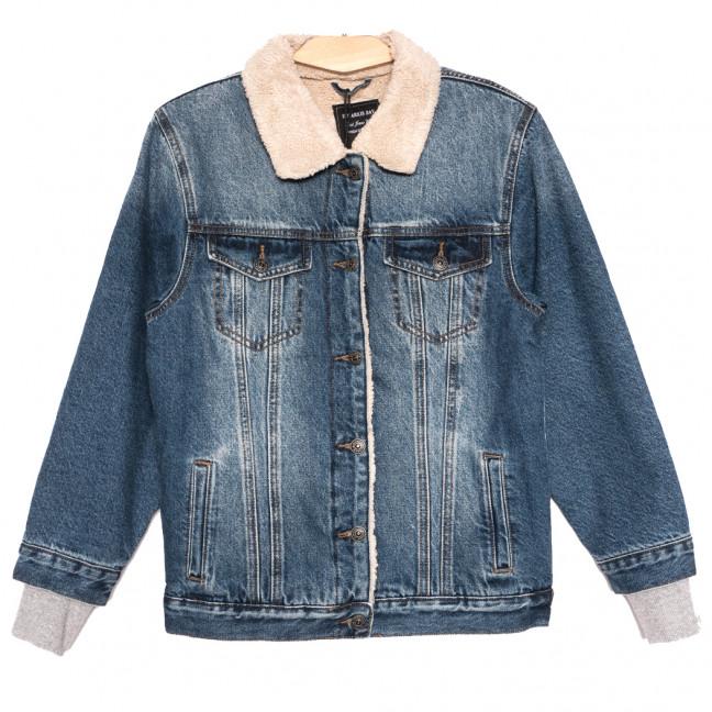 3056 Dimarkis Day куртка джинсовая женская синяя осенняя коттоновая (S-2XL, 5 ед.) Dimarkis Day: артикул 1115817