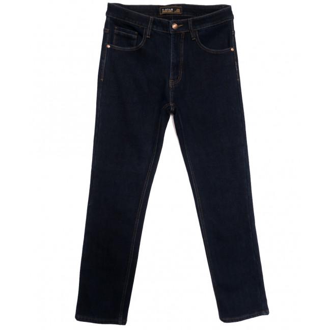 03999 T-Star джинсы мужские полубатальные на флисе темно-синие зимние стрейчевые (32-42, 8 ед.) T-Star: артикул 1115729