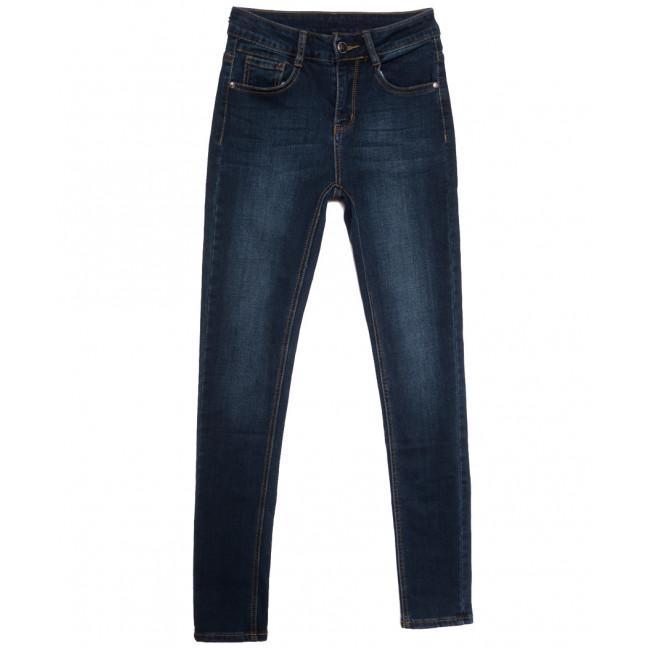 0151 (L151) Lelena джинсы женские на байке синие зимние стрейчевые (25-30, 6 ед.) Lelena: артикул 1115922